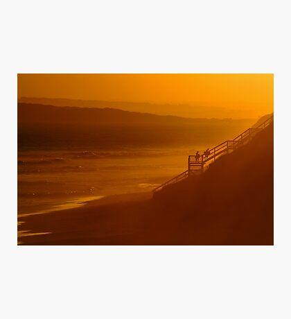 Thirteen Beach, End Of Day Photographic Print