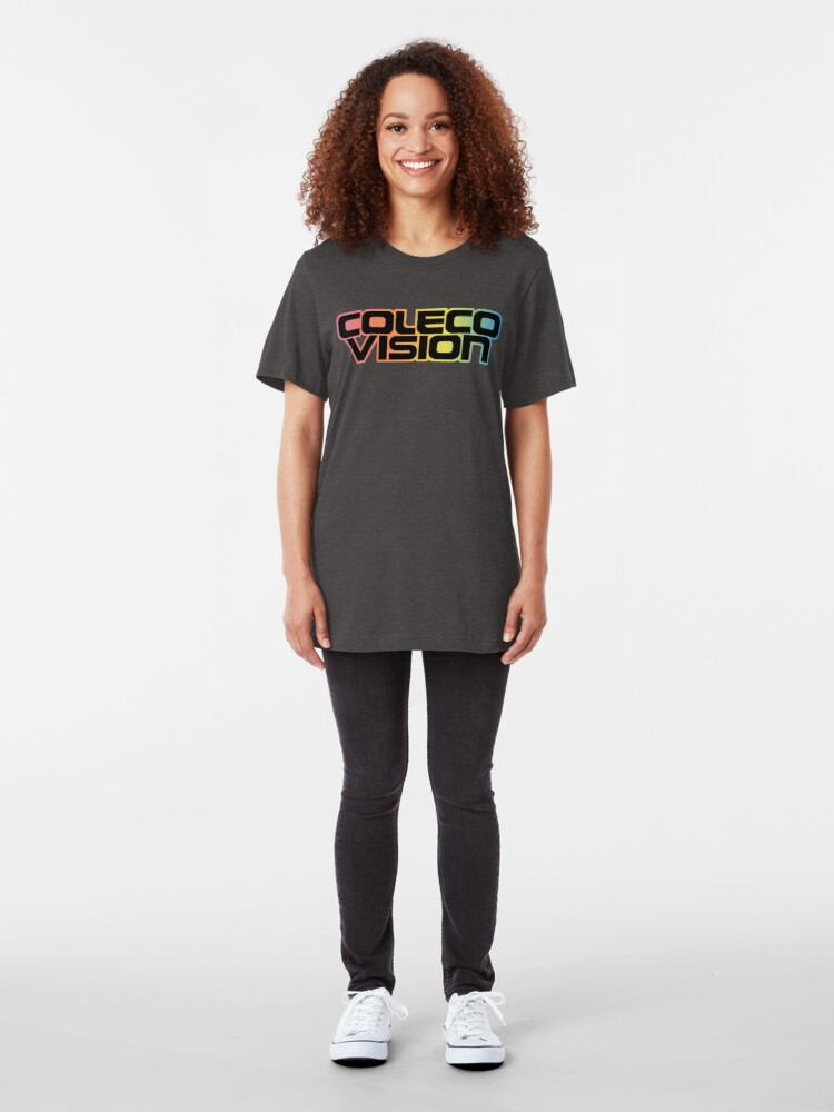 Alternate view of ColecoVision Slim Fit T-Shirt