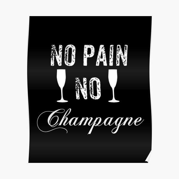Champagne Bottle Poster Print Winemaker Gift Wine Bar Art Wine Lover Gift