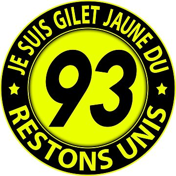 I'm Yellow Vest 93 by extracom
