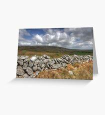 Rural Burren View Greeting Card