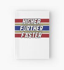 Höher weiter schneller Notizbuch