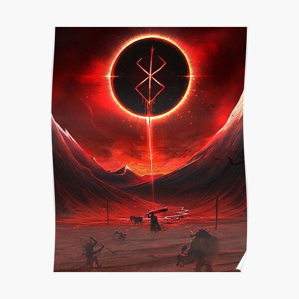 Berserk Demon Mark Poster