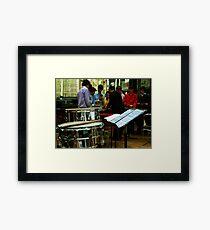 Percussion Ensemble Framed Print