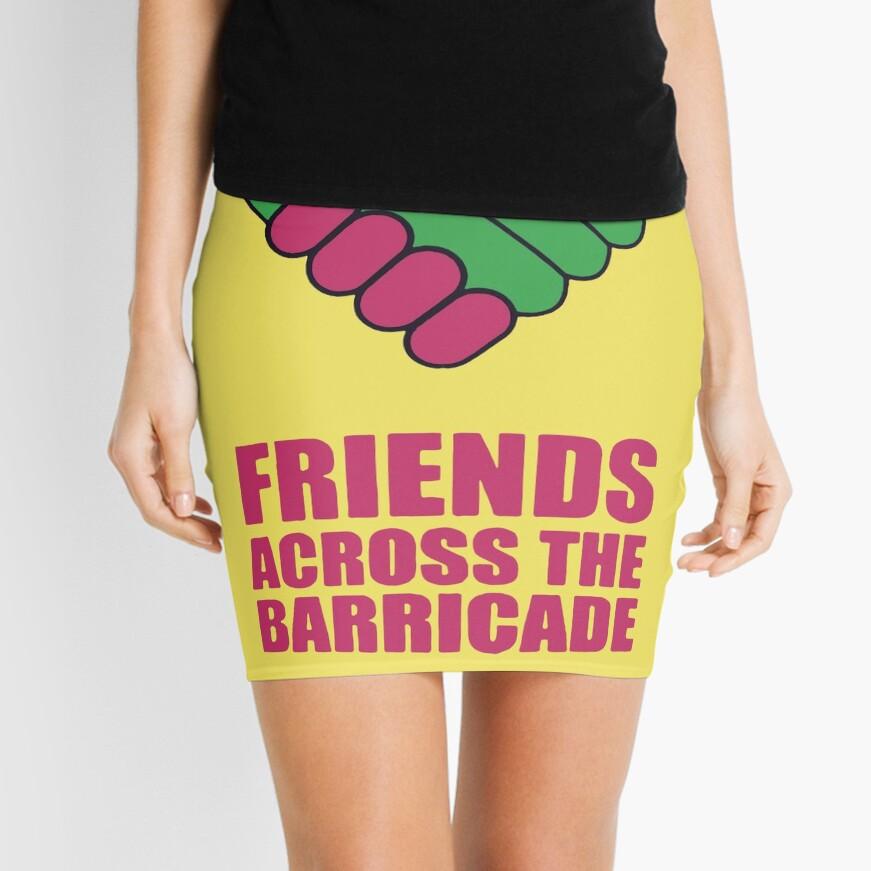 Friends Across The Barricade Mini Skirt