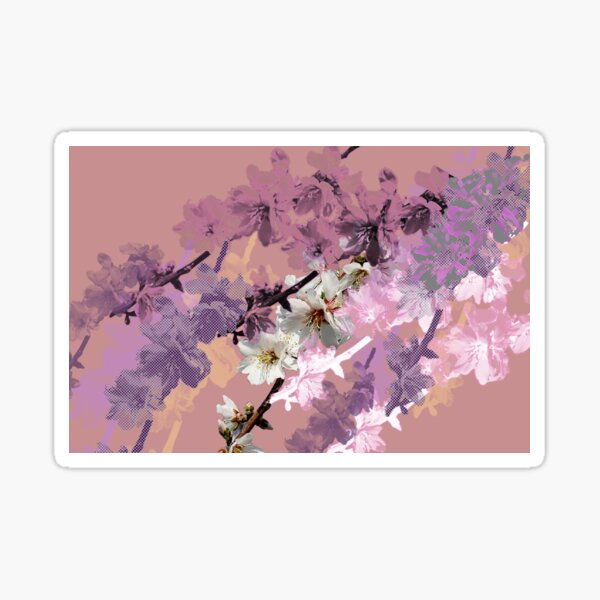 Almond Blossom Passion Sticker