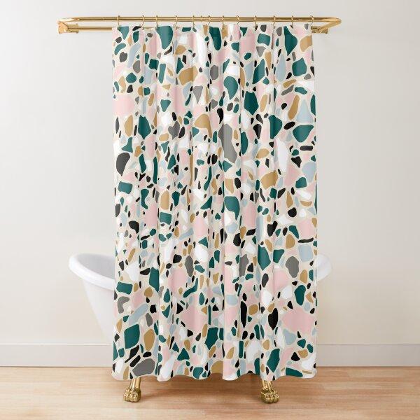 So Terrazzo  Shower Curtain