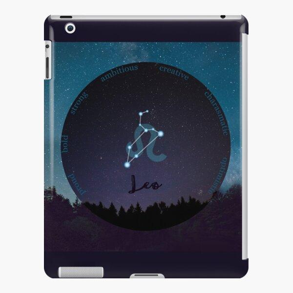 Leo Zodiac Sign Character Traits iPad Snap Case