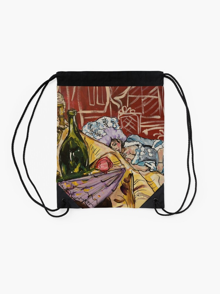 Alternate view of This is the Life Drawstring Bag