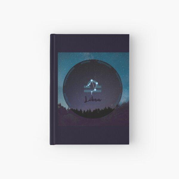 Libra Zodiac Sign Character Traits Hardcover Journal