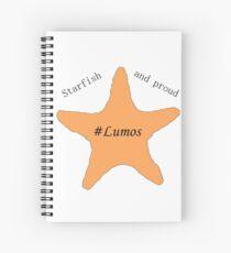 Tessa Netting- Starfish and proud/Lumos Spiral Notebook