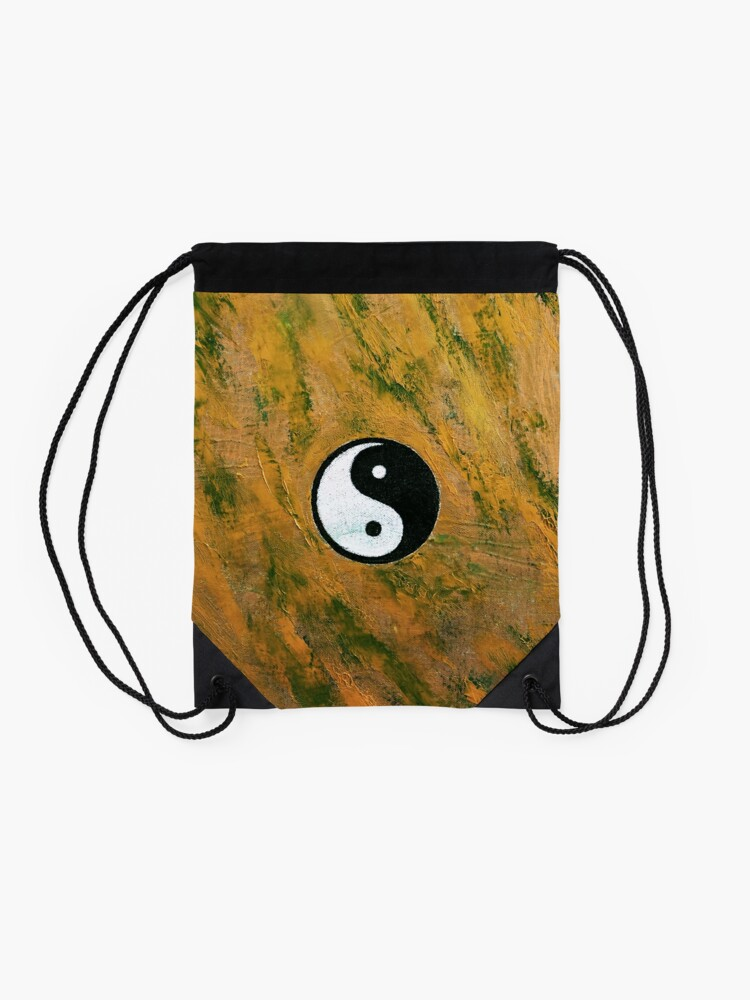 Alternate view of Yin Yang Stone Drawstring Bag