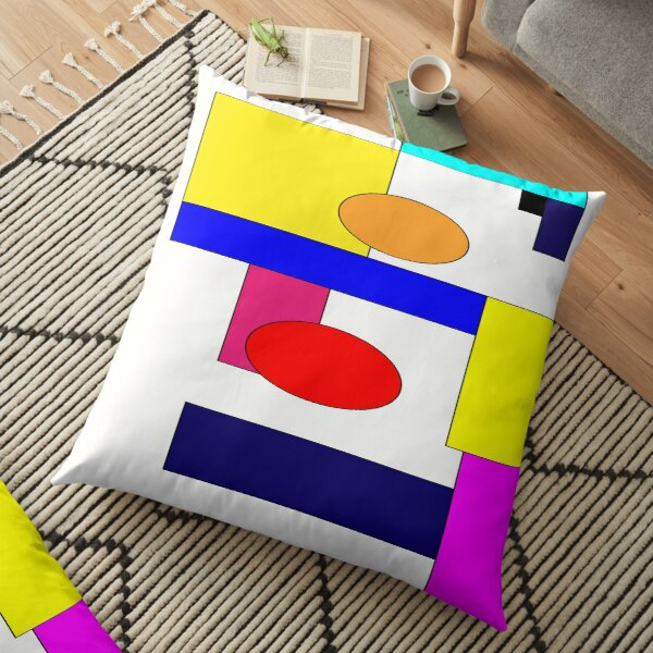 Digital World Floor Pillow