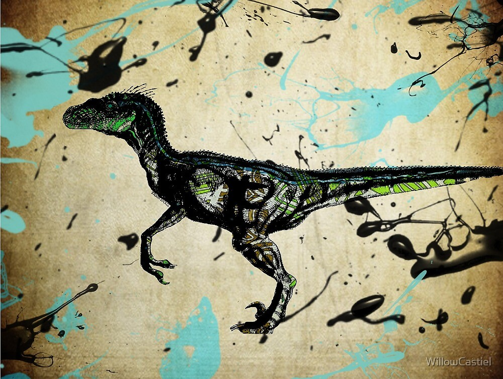 Raptor Blue by WillowCastiel