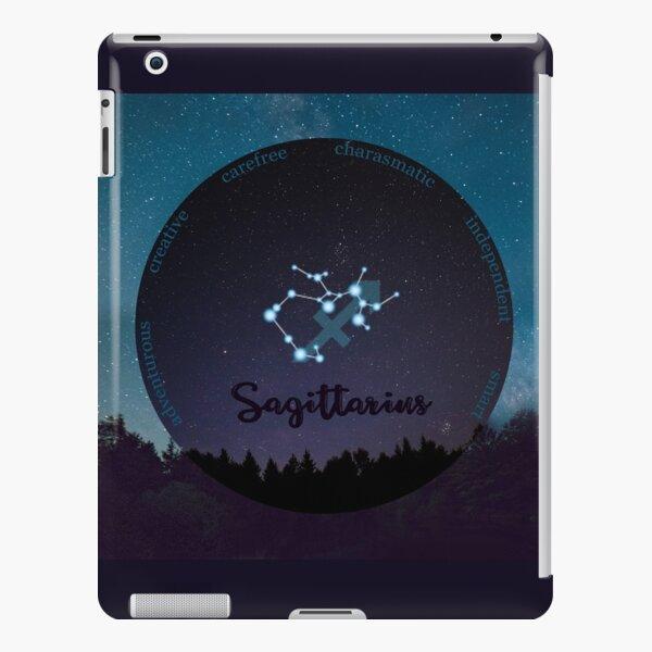 Sagittarius Zodiac Sign Character Traits iPad Snap Case