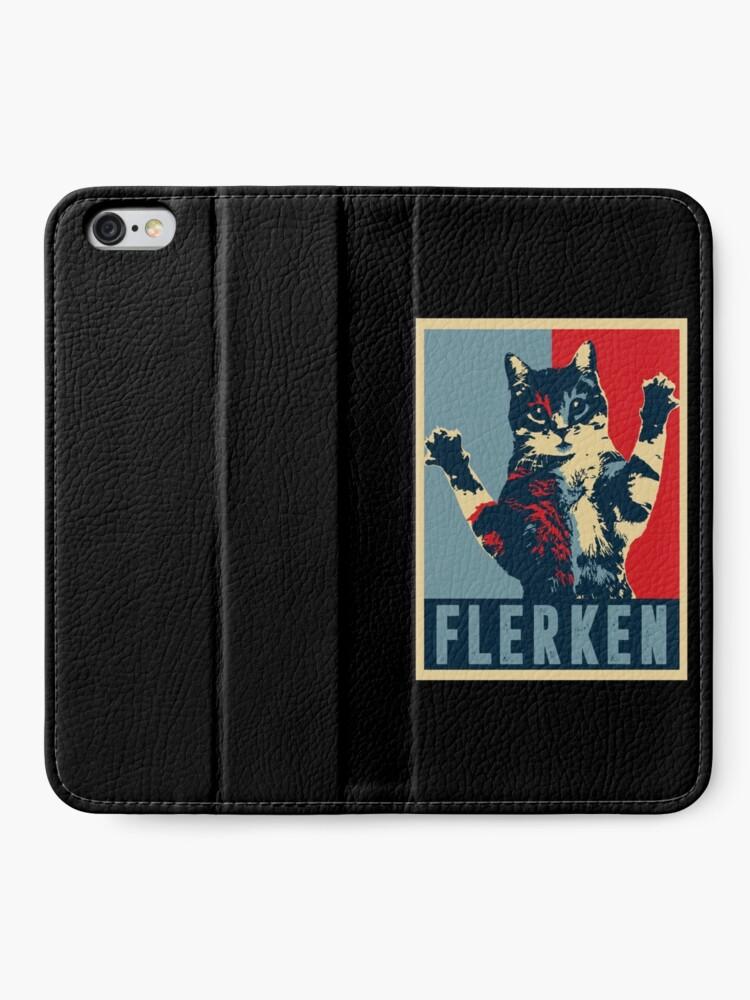 Alternate view of Flerken iPhone Wallet