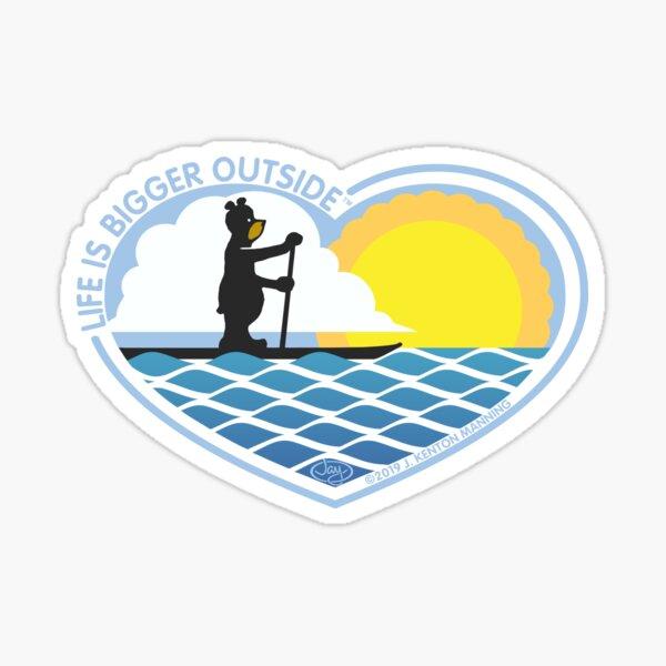 SUP Bear-Heart Sticker