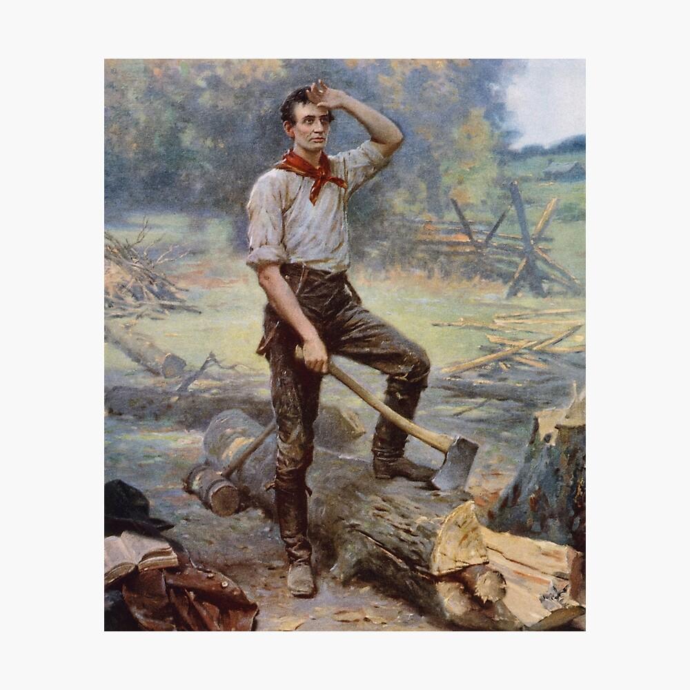 Abraham Lincoln - Der Schienensplitter Fotodruck