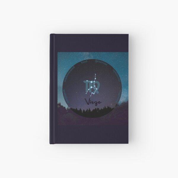 Virgo Zodiac Sign Character Traits Hardcover Journal