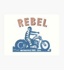 Shovelhead Rebel Kunstdruck
