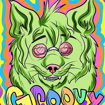groovy lynx by cheshiebear