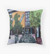 Brisbane Square Library Throw Pillow
