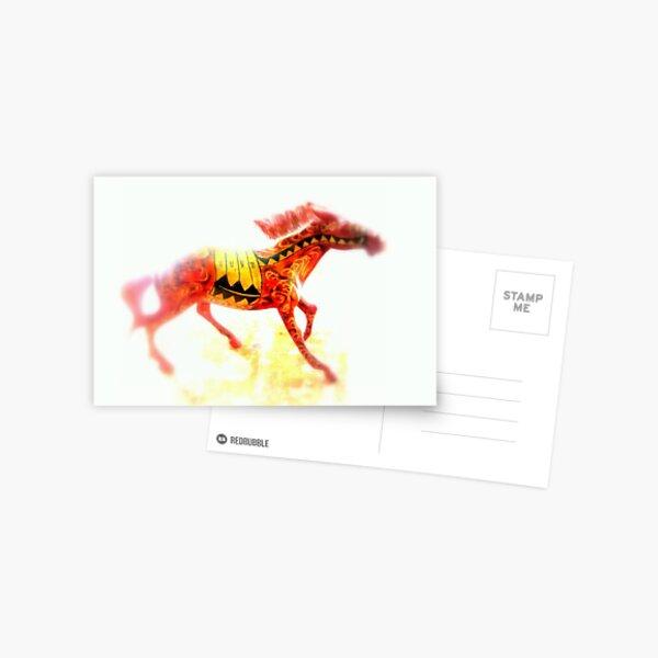 INDIA Postcard