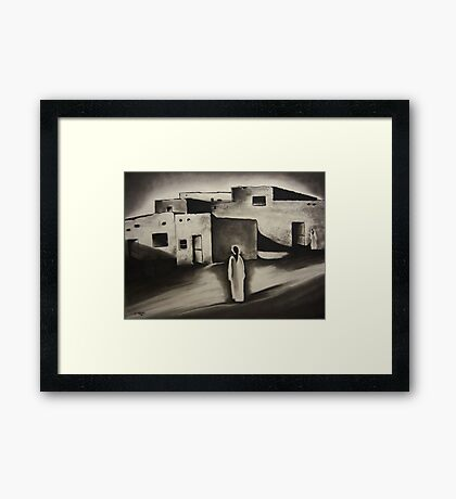 Nubian Village Framed Print