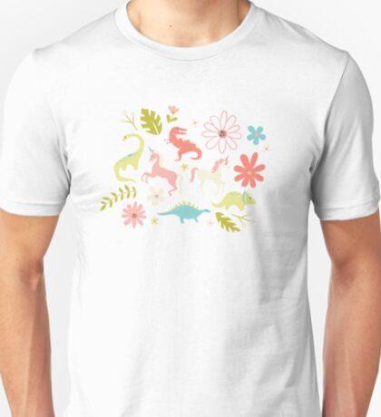 Dinosaurs + Unicorns T-Shirt