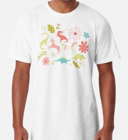Dinosaurs + Unicorns Long T-Shirt
