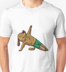 Hund Yoga Lustig Unisex T-Shirt
