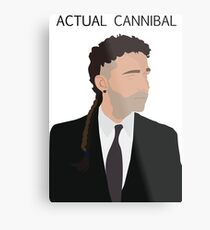 Actual Cannibal Metal Print