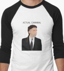 Actual Cannibal Men's Baseball ¾ T-Shirt