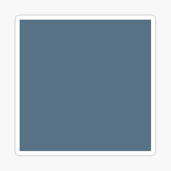 PANTONE 18-4217 TCX Bluestone. fashion palette, 2019/2020 NYFW Sticker