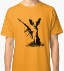 Jackrabbit with Kalashnikov Classic T-Shirt