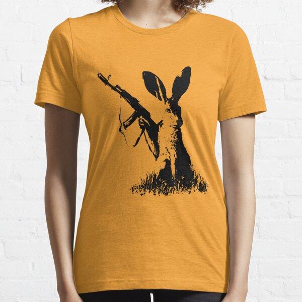 Jackrabbit with Kalashnikov Essential T-Shirt