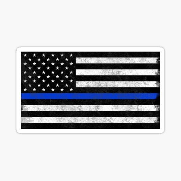 The Blue Line Sticker