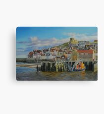 The Whitby Lifeboat Station Canvas Print