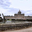 Atlas Fountain and Castle Howard by Ray Clarke