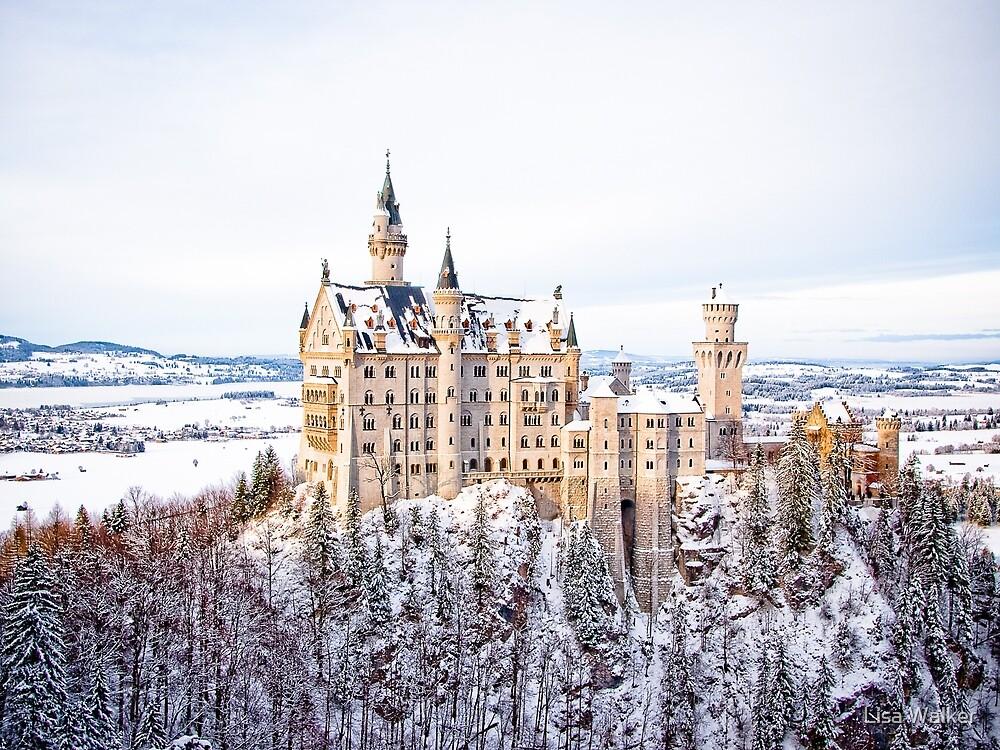 Neuschwanstein Castle, Germany by Lisa Walker