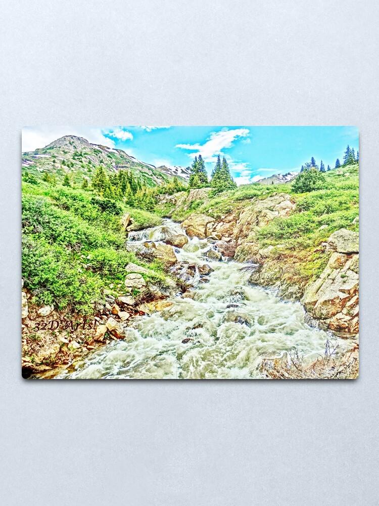 Alternate view of Roaring Fork River, Headwaters No. 3  Metal Print
