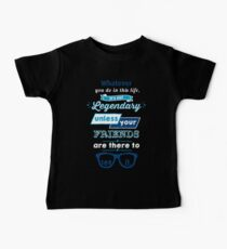 Legendary - Barney Stinson Quote (Blue) Baby Tee