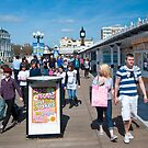 Bright and Sunny: Brighton Pier, UK. by DonDavisUK