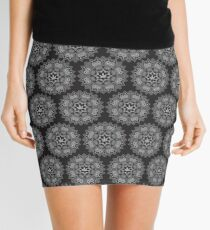 Mandela Pattern  Mini Skirt