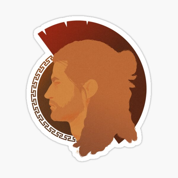 Alexios - Spartan sibling 2of2 Sticker