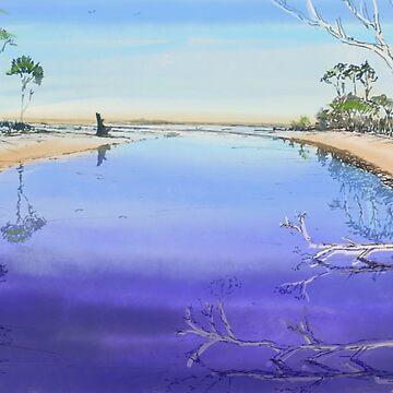 Sisters creek by Ian Shiel  by Ruckrova