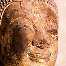 Buddha Image, Wat Si Saket, Laos by Kerry Dunstone