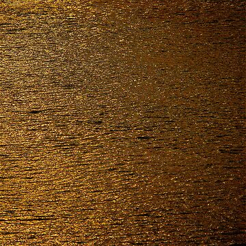 Water in Gold Leaf by Jeffsf1019