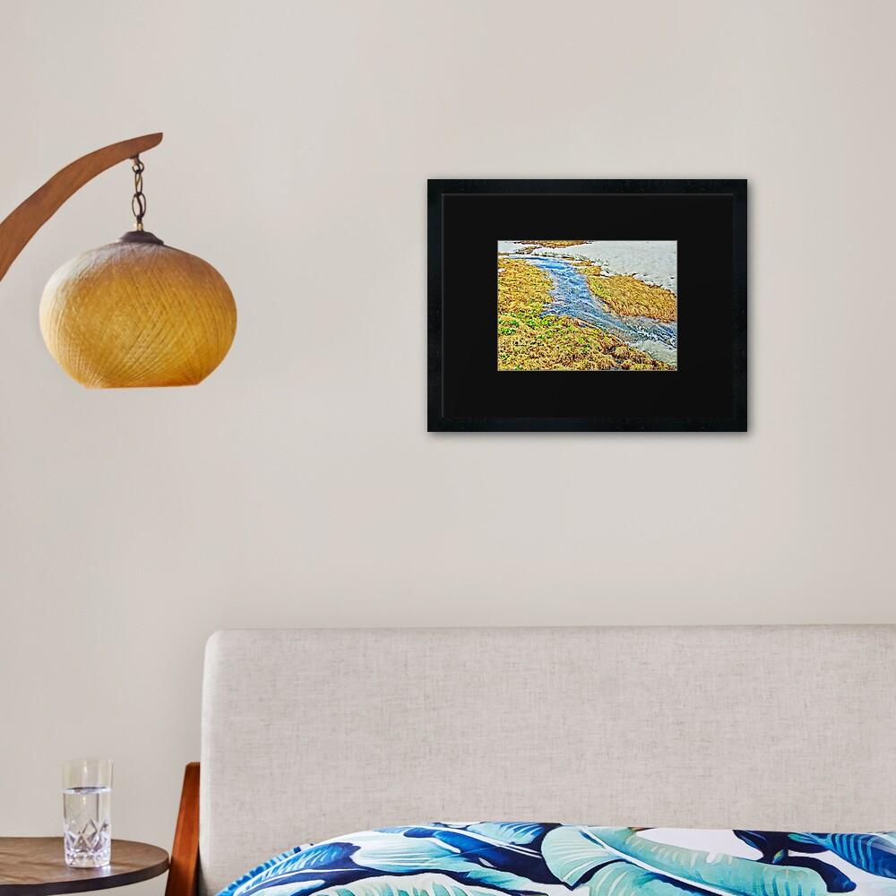 Roaring Fork River, Headwaters No.8 Framed Art Print