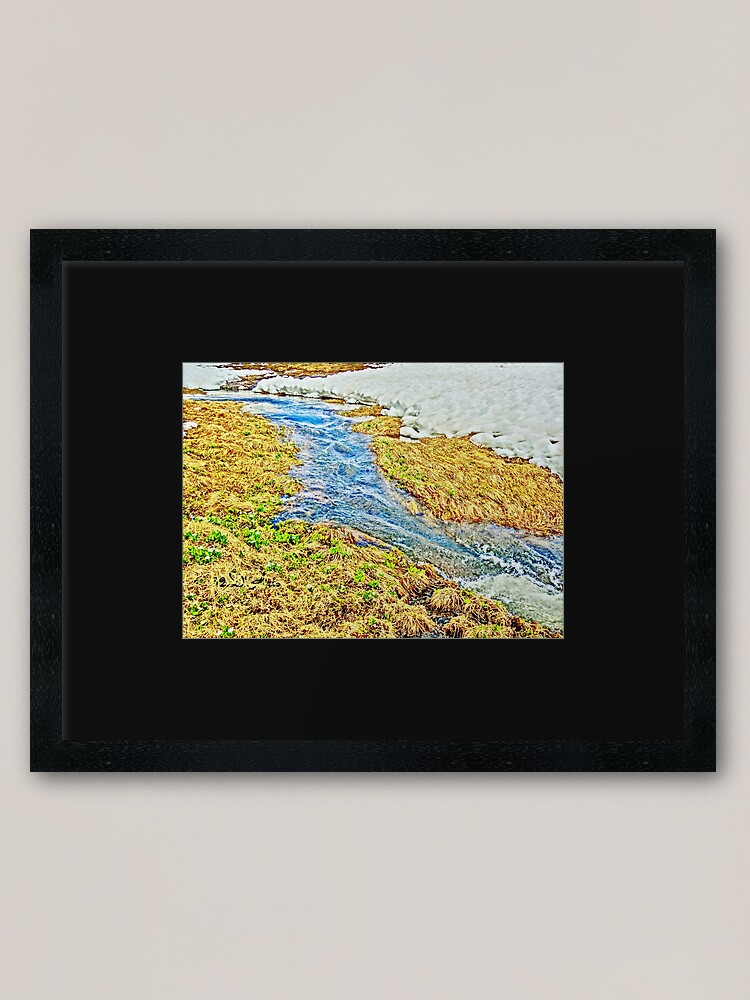 Alternate view of Roaring Fork River, Headwaters No.8 Framed Art Print